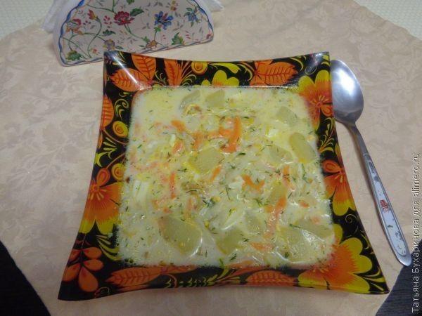 Молочный суп по-польски