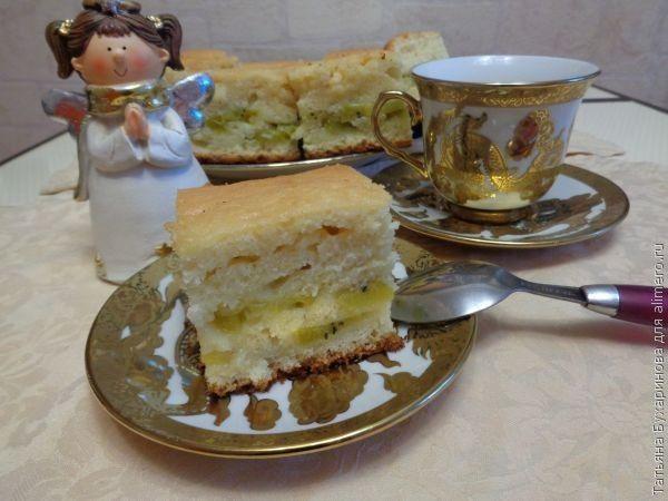 Пирог с киви