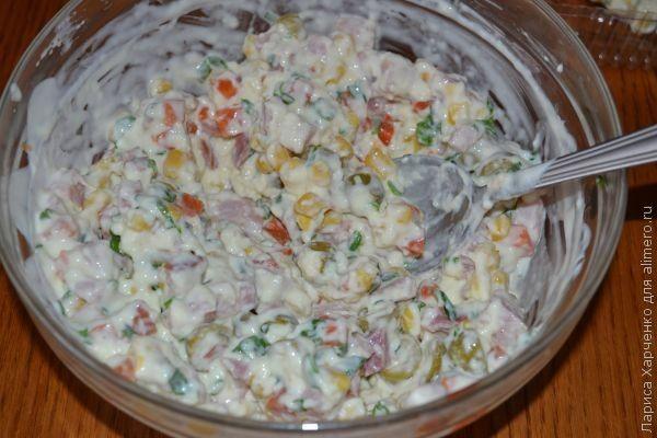 Салат-желе