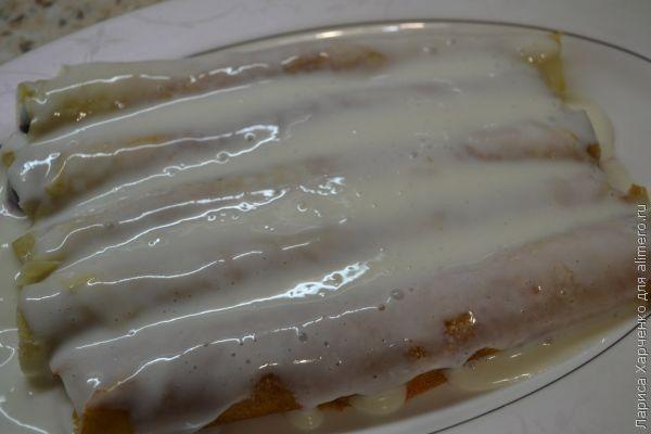 рецепт блинного торта