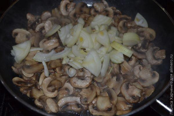 рецепт сырно-грибного супа