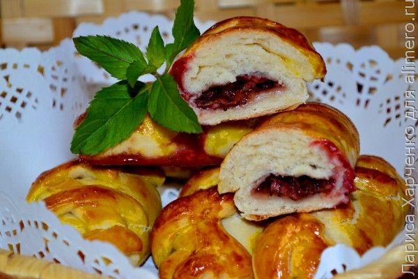 пирожки с лесными ягодами рецепт