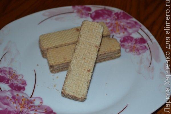десерт с малиной