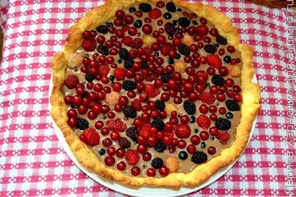 ягодный тарт