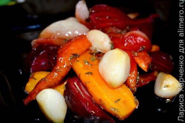 запеченные овощи рецепт