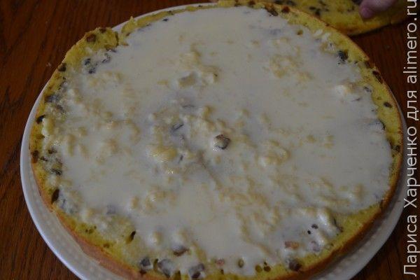 грибной торт