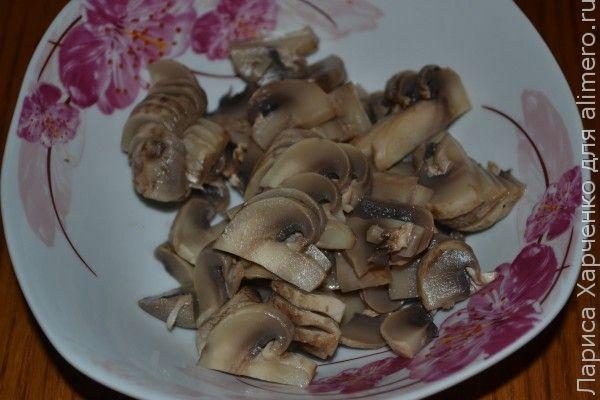 выпечка с грибами