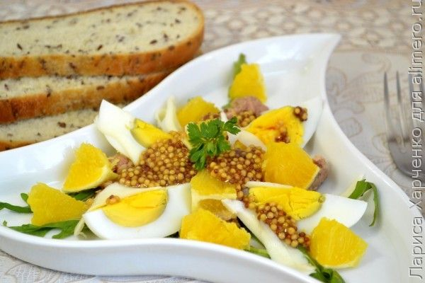 Яйцо и апельсин рецепт