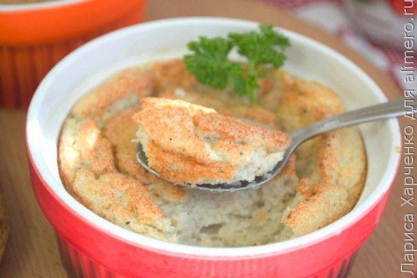 суфле из мяса в духовке рецепты