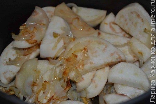 баклажаны с фасолью