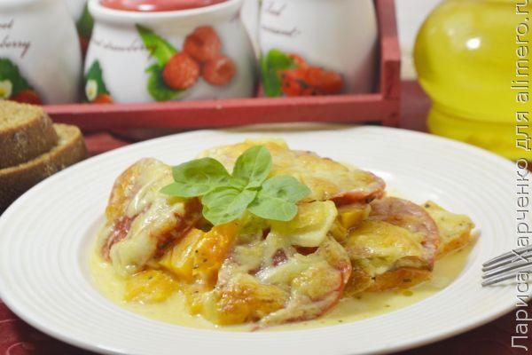 Манты из тыквы и картошки рецепт с фото 135