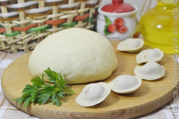 Тесто для мант рецепт из яиц