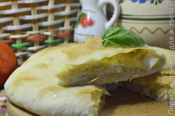 хачапури с сыром