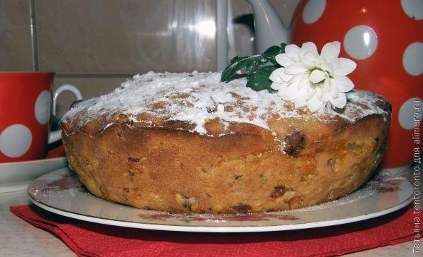 Тыквенный  пирог «Краски осени»