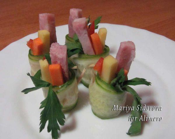 овощные роллы рецепт