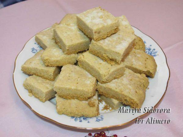 индийское печенье с орехами рецепт