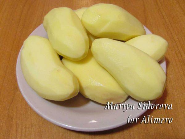 Как сделать картофель в масле