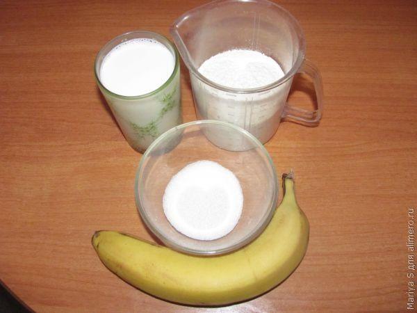 банановые панкейки рецепт