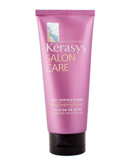 Маска «Уход в салоне» для безопасного выпрямления волос от Kerasys. Чем-то напоминает кондиционер, но раза в 3 эффективней. Система восстановления волос перевоспитывает даже хулиганские кудри, и они становятся гладкими и покладистыми.