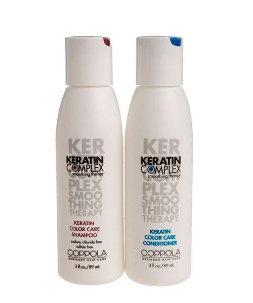 Кератиновый шампунь создан специально для ухода за окрашенными волосами. Он продлевает насыщенность цвета и предотвращает от выгорания. Нежно очищает волосы, не затрагивая пигмент внутри. Обеспечивает стойкость цвета и блеск. Интенсивно питает и надежно увлажняет волосы.