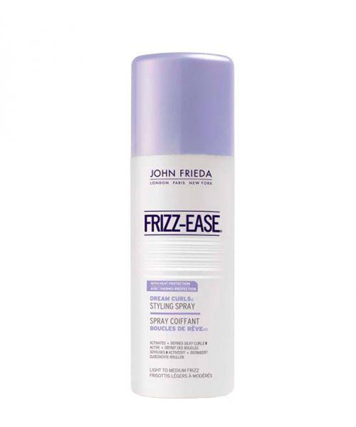 Frizz-Ease для эффекта легких кудряшек и локонов от John Frieda. Пару нажатий — и волосы становятся легкими, шелковистыми, упругими, с кокетливыми завитками. При этом отсутствует чувство сухости, тяжести или склеенности.