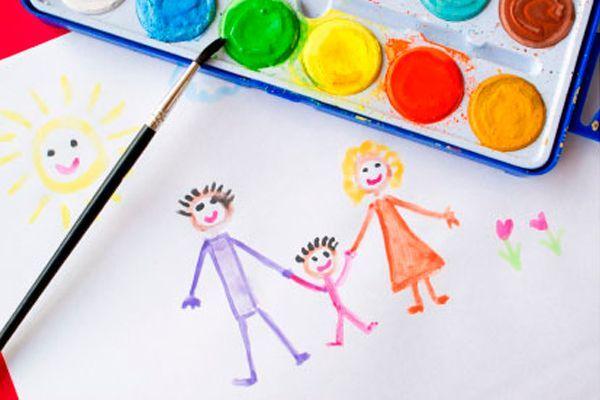 Рисование – это основной вид творчества, наиболее часто используемый детьми. Удивительна связь между рисованием и мышлением напрямую, ведь во время изобразительного искусства включается память, внимание, ребенок учится и тренируется воображать и сравнивать.