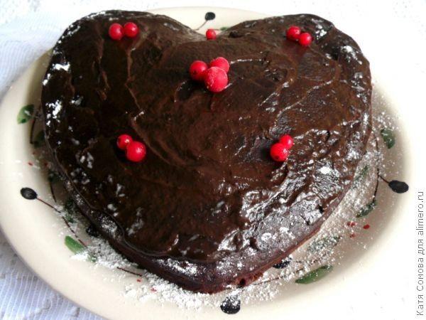 Влажный торт