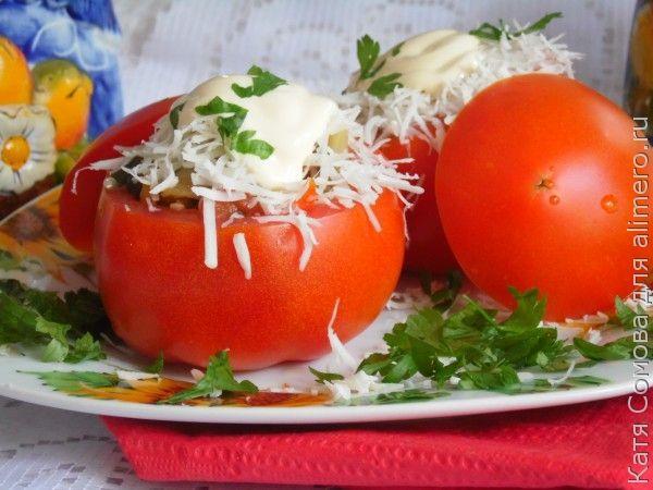 Закуска из помидор рецепт