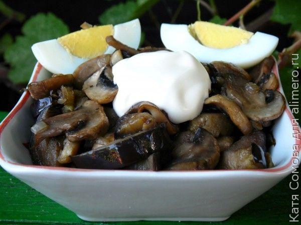 Закуска из грибов