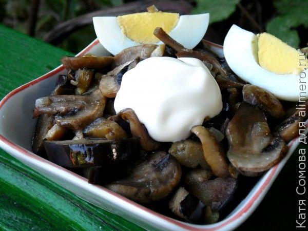 Закуска из грибов рецепт