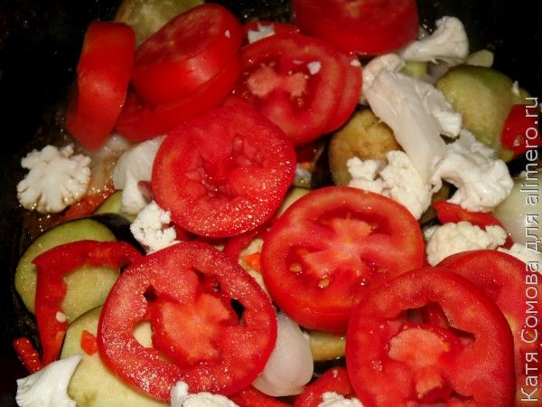 Котлеты с овощами