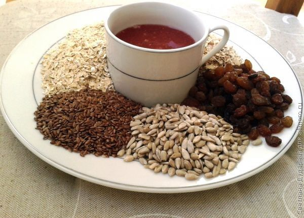 Гранола- блюдо из овсянки