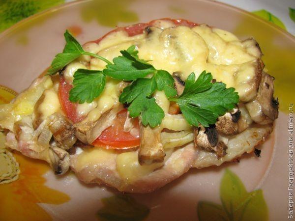 мясо по-французски рецепт