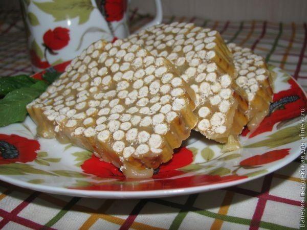 Сладкая колбаска из соломки фото