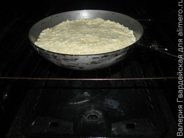 Творожная запеканка с кукурузной мукой