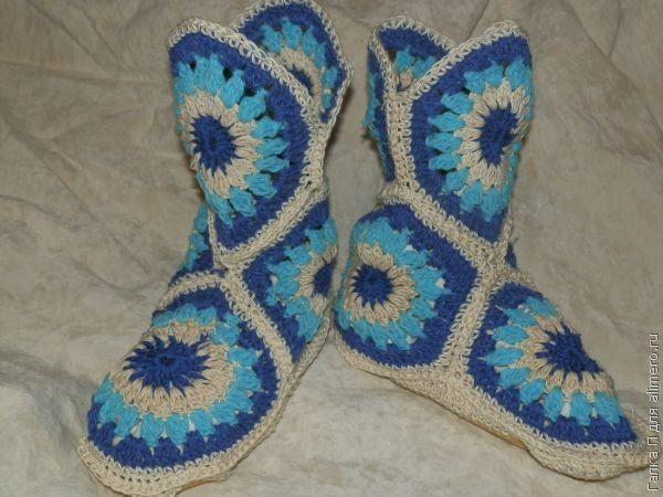 Геометрические носочки. Мастер-класс