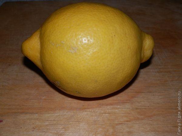 Оригинальная закуска из сыра и лимона