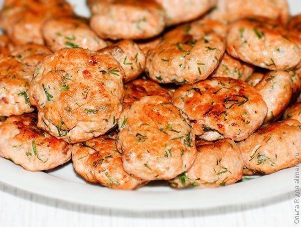 рецепт Котлеты фото с красной из рыбы
