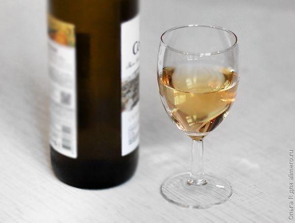 Сибас в белом вине