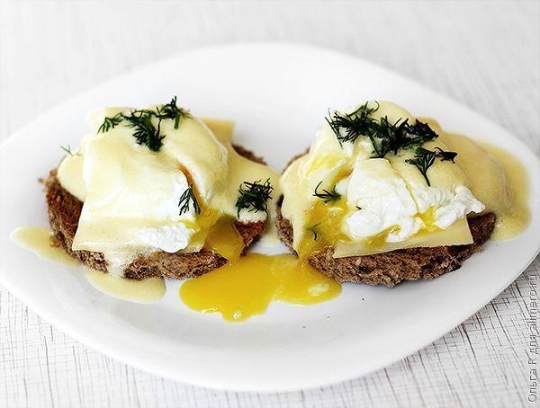 Яйца Бенедикт с голландским соусом