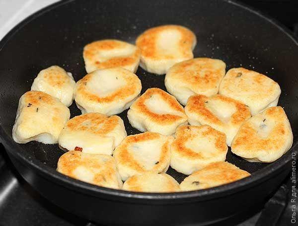 Картофельные ньокки с тимьяном