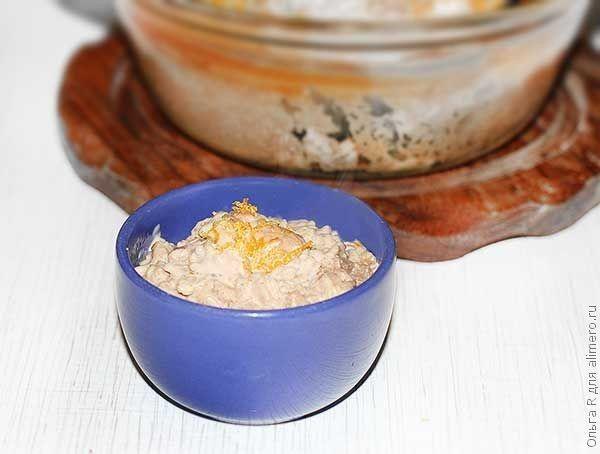 Десерт из риса