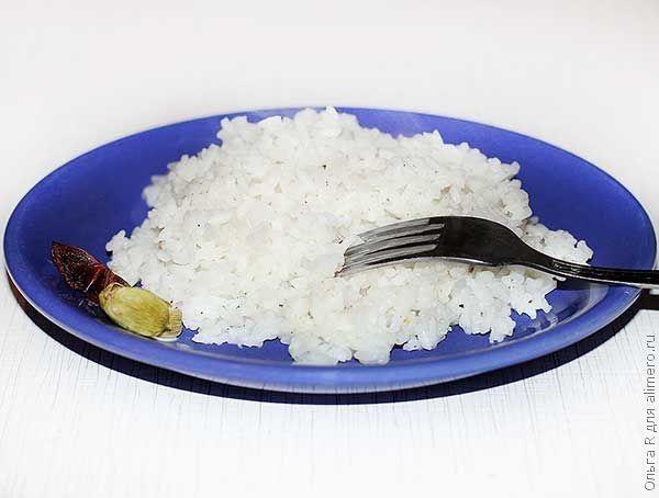Ароматный рис с анисом и кардамоном