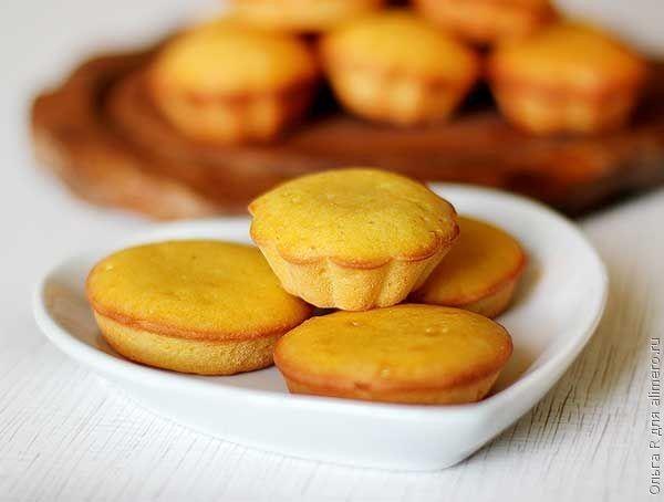 Мандариновые мини-кексы