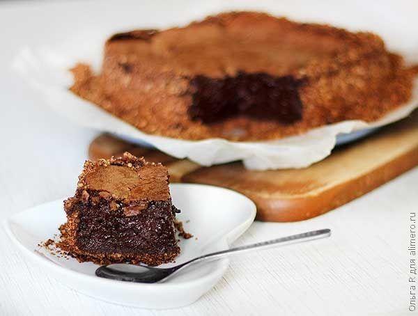 Шоколадный пирог Грязь Миссисипи