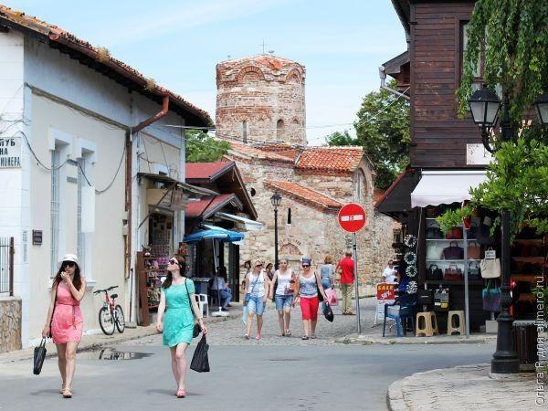 Несебр, старый город