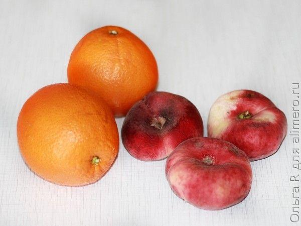 Апельсиново-персиковый кекс