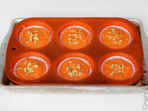 Морковные кексы