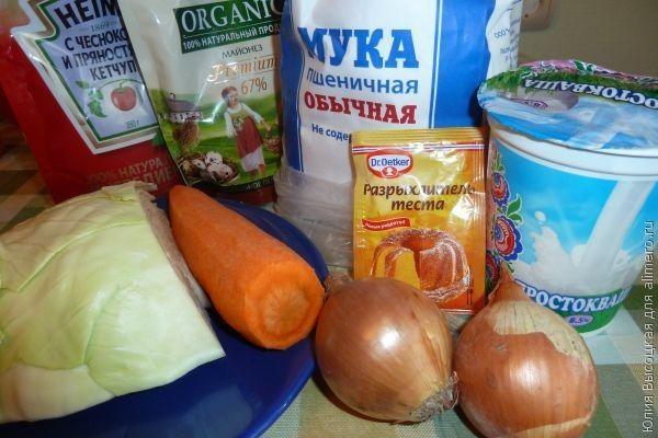 капустно-морковная запеканка в мультиварке