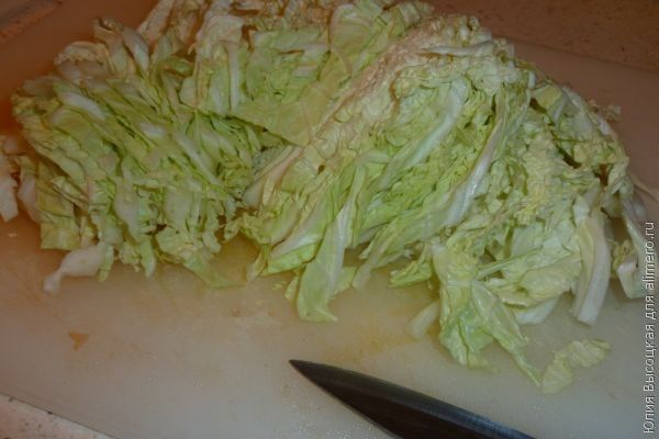 Салат из свеклы с пекинской капустой